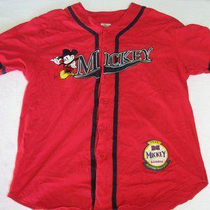 Vintage Mickey Mouse Baseball Jersey